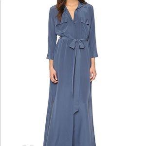 L'Agence Cameron maxi silk dress